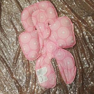 Carter's reversible pink body cuddler
